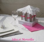 CENTRE DE TABLE THEME ILES
